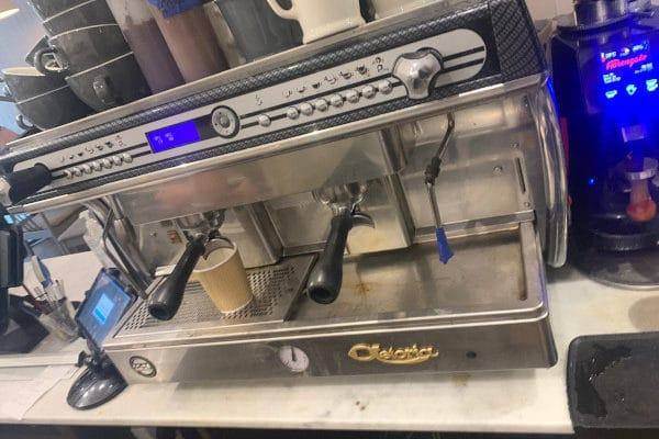 Bristol Drain and Plumbing coffee machine