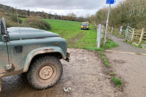 Blocked Drain at a farm in Long Ashton Bristol