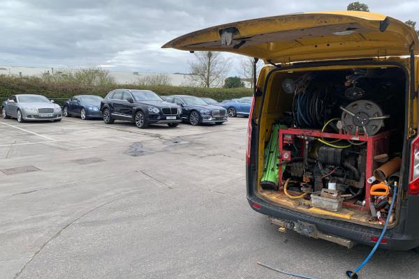 Bristol Drain and Plumbing Van